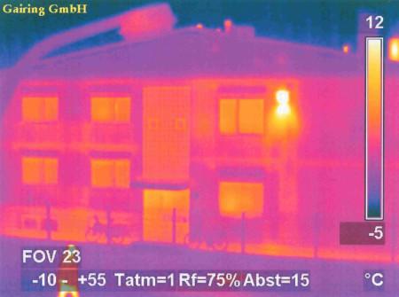 Beispiel Thermographieaufnahme